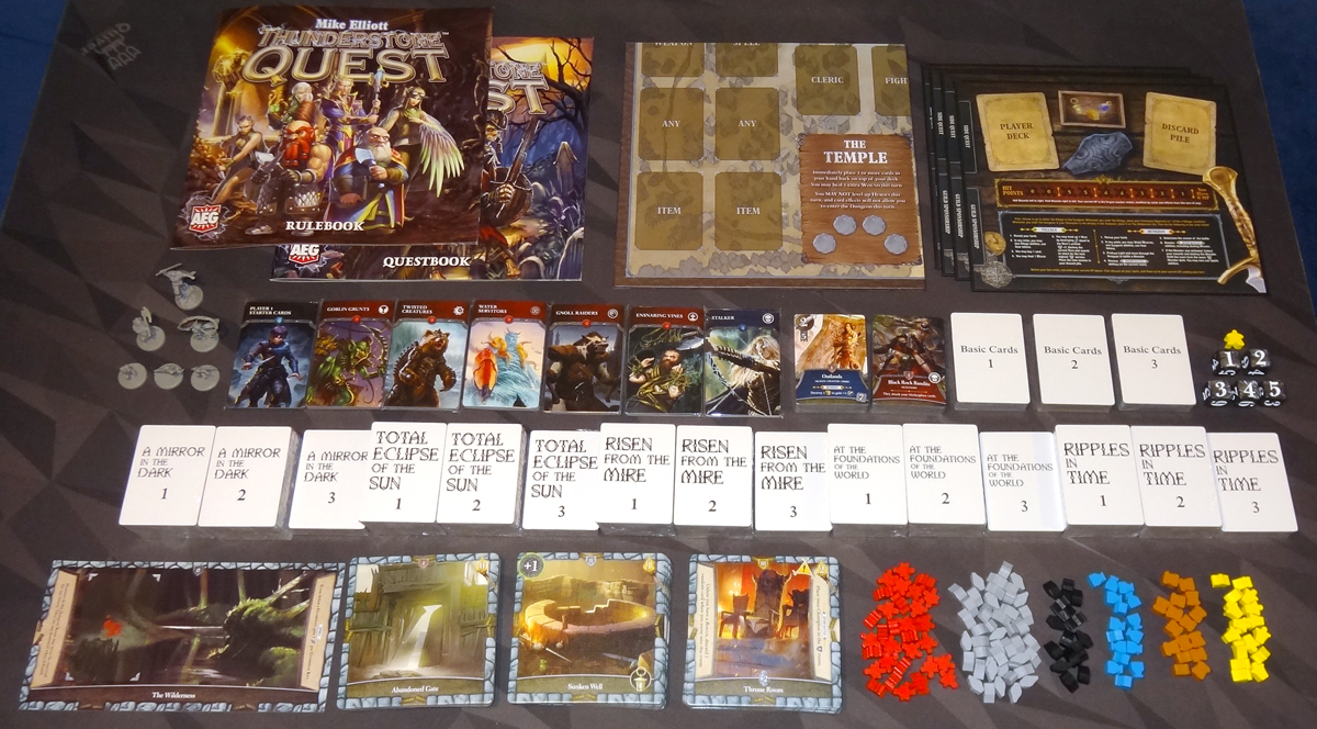 Thunderstone Quest components