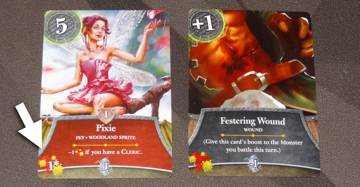 Thunderstone Quest Pixie and festering wound