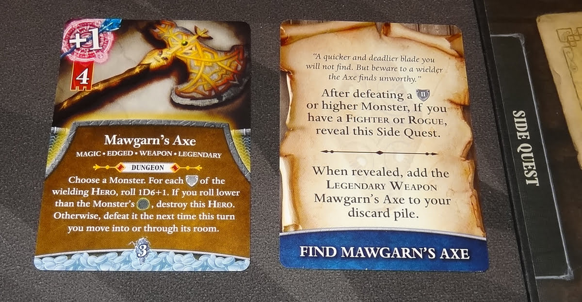 Thunderstone Quest: Mawgarn's Axe side quest
