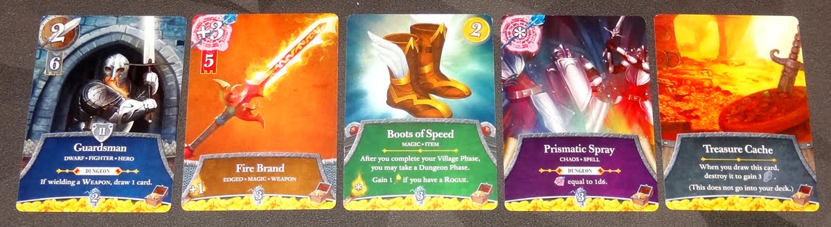 Thunderstone Quest treasure cards