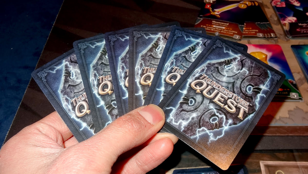 Thunderstone Quest card backs