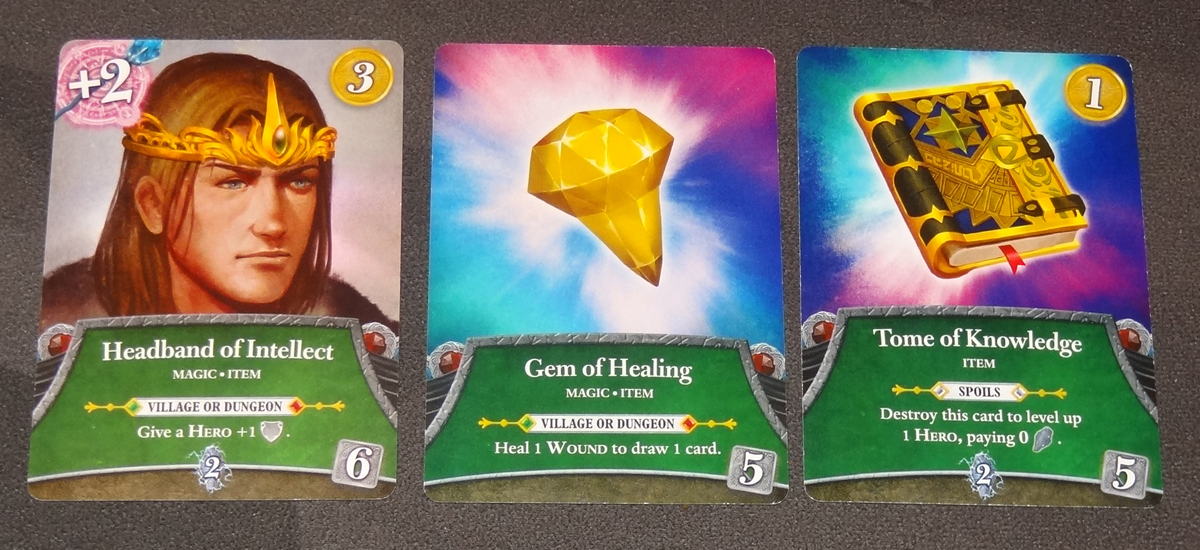 Thunderstone Quest item cards