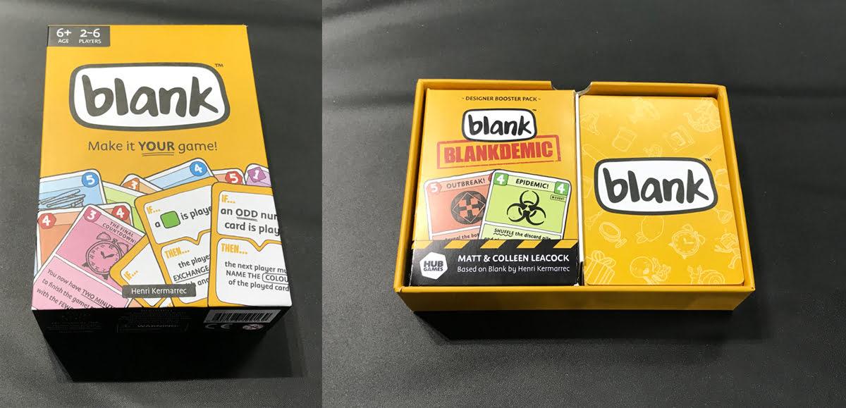 Blank and Blankdemic