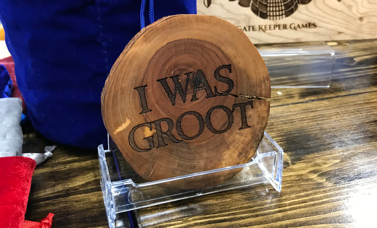 I Was Groot coaster