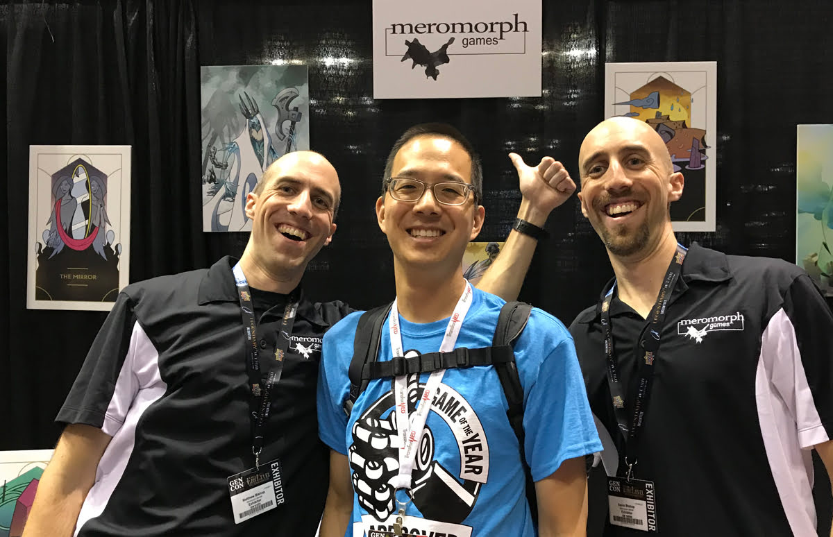 Meromorph Games