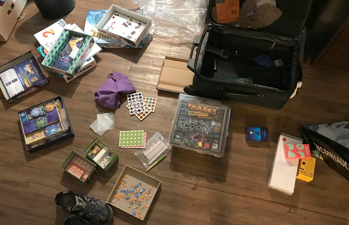 Suitcase Tetris