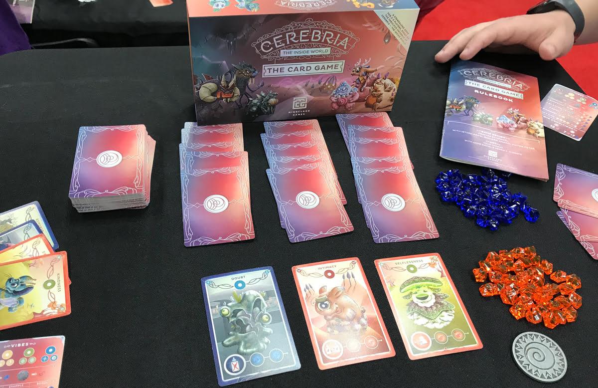 Cerebria Card Game