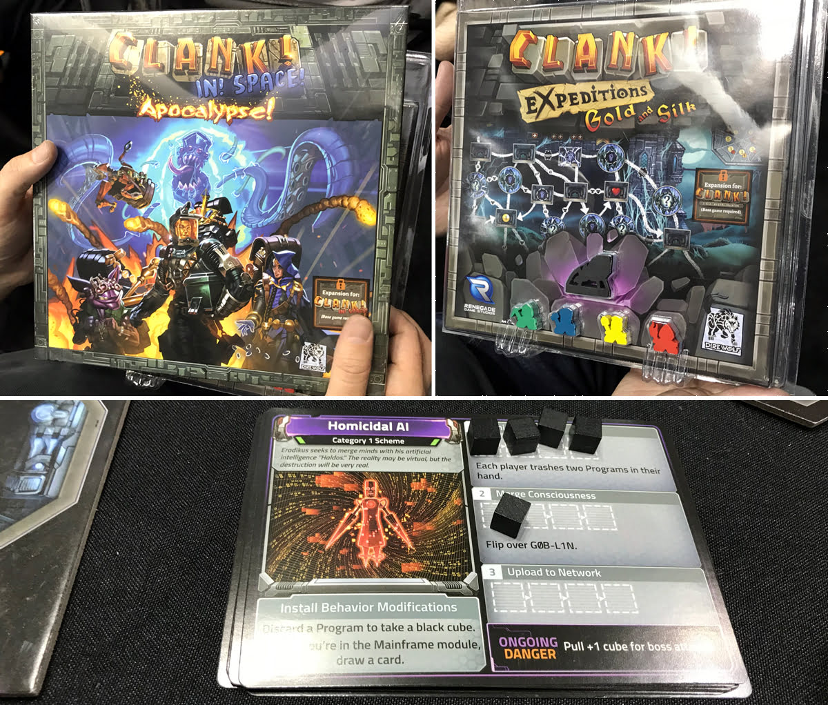 Clank! expansions