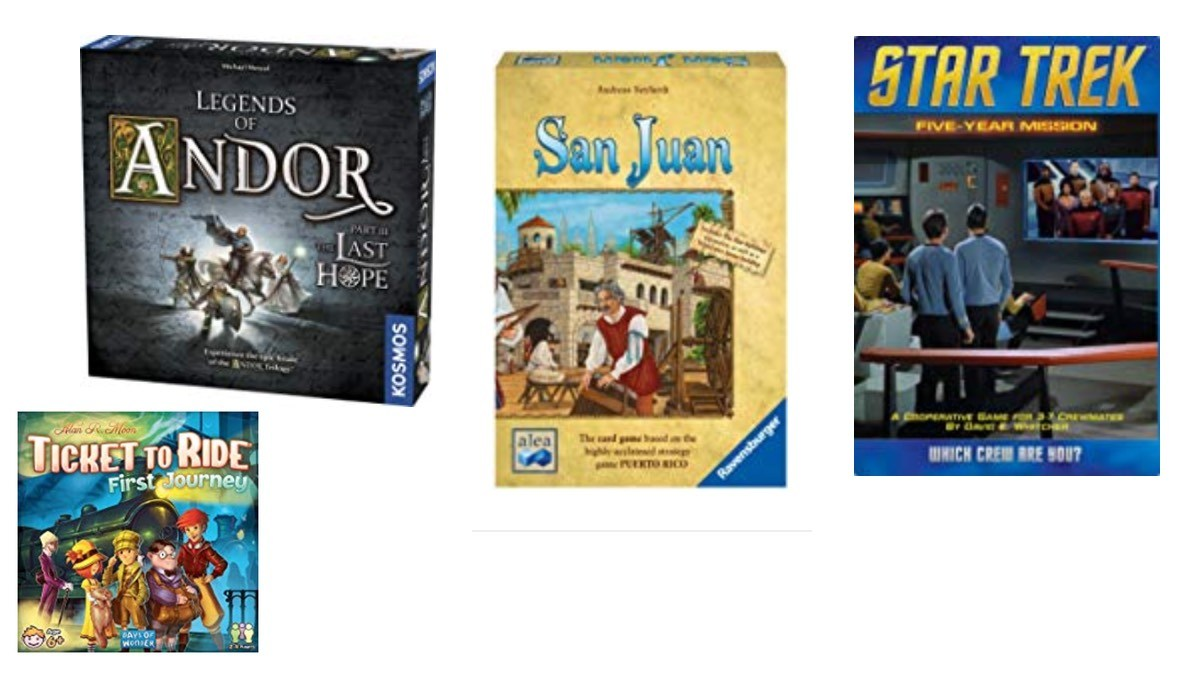 Geek Daily Deals 080518 tabletop games