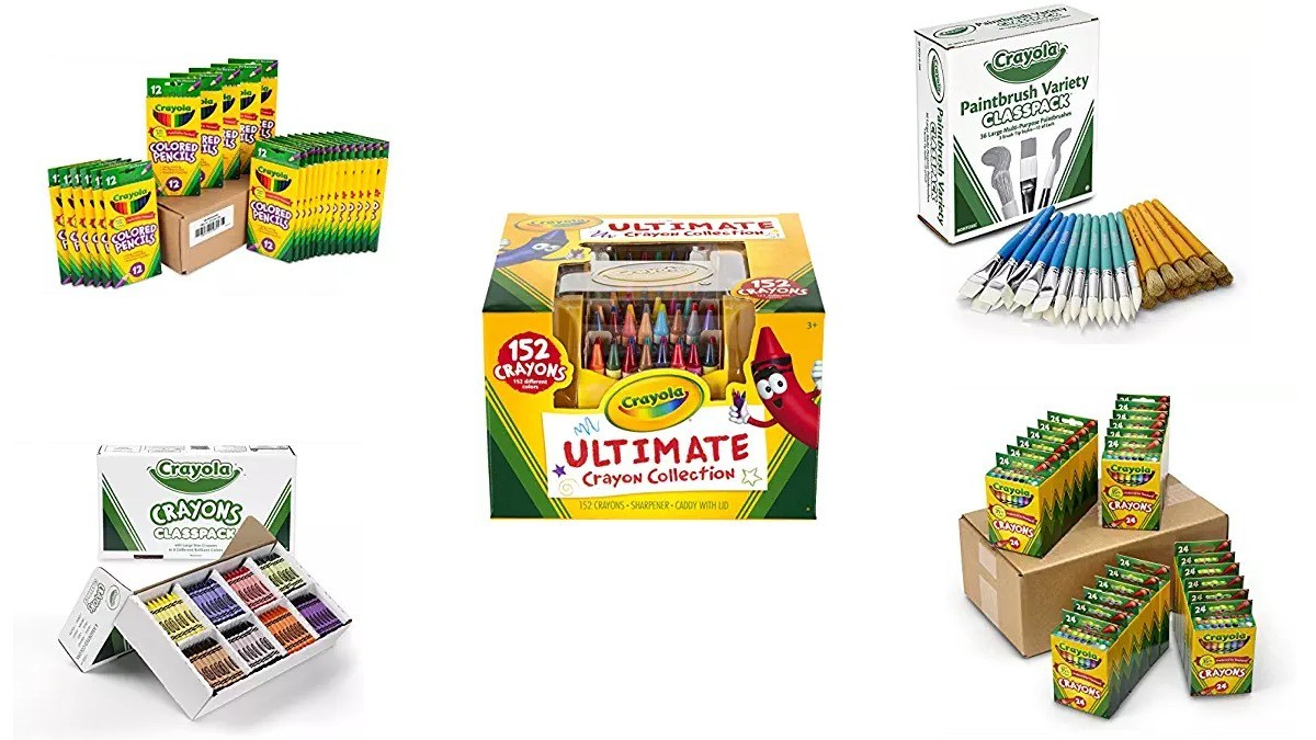 Geek Daily Deals 080618 crayola sets
