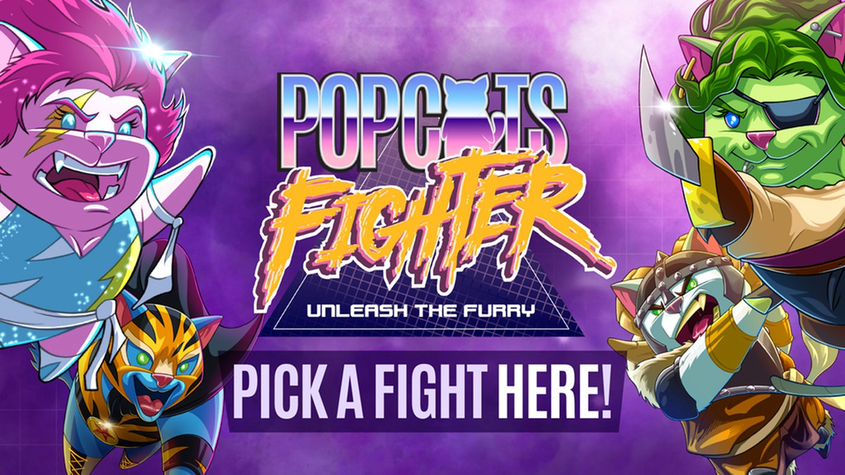 PopCats Fighter banner