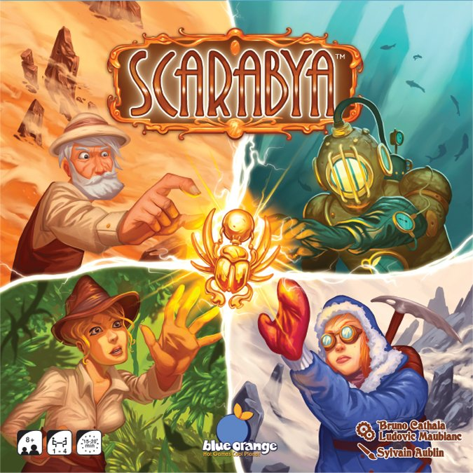 Scarabya cover