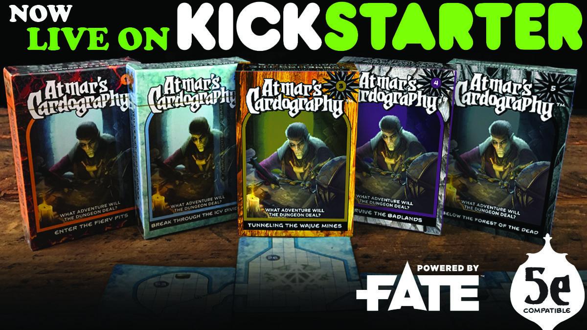 Kickstarter Tabletop Alert Module And Dungeon Generator In A Box Geekdad Full rpg modules & random dungeon decks on kickstarter! geekdad