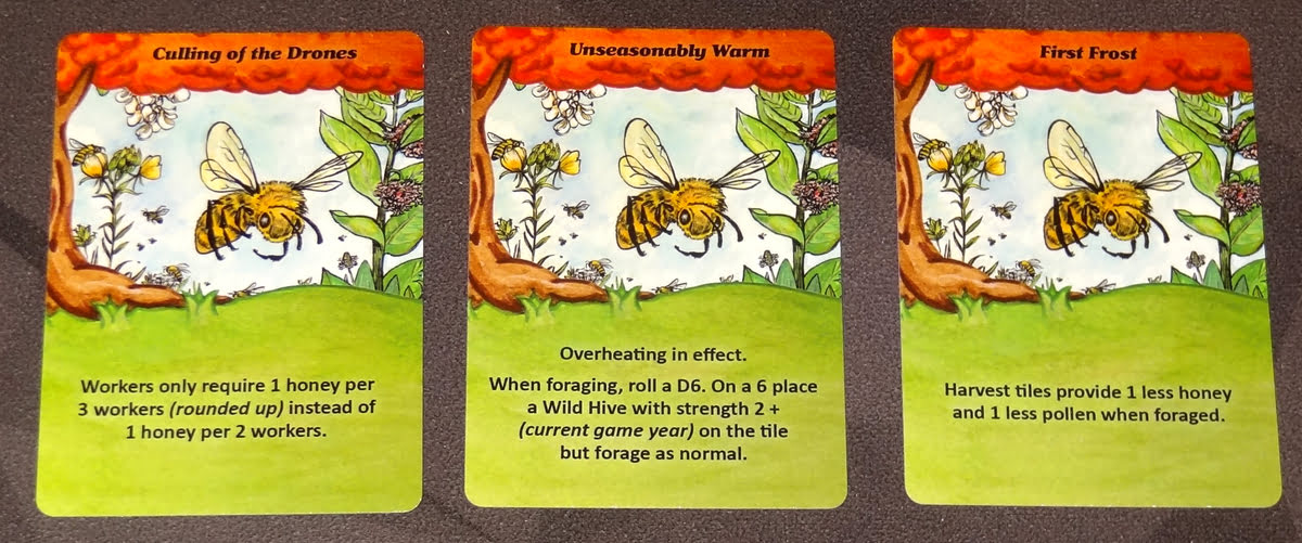 Bee Lives fall cards
