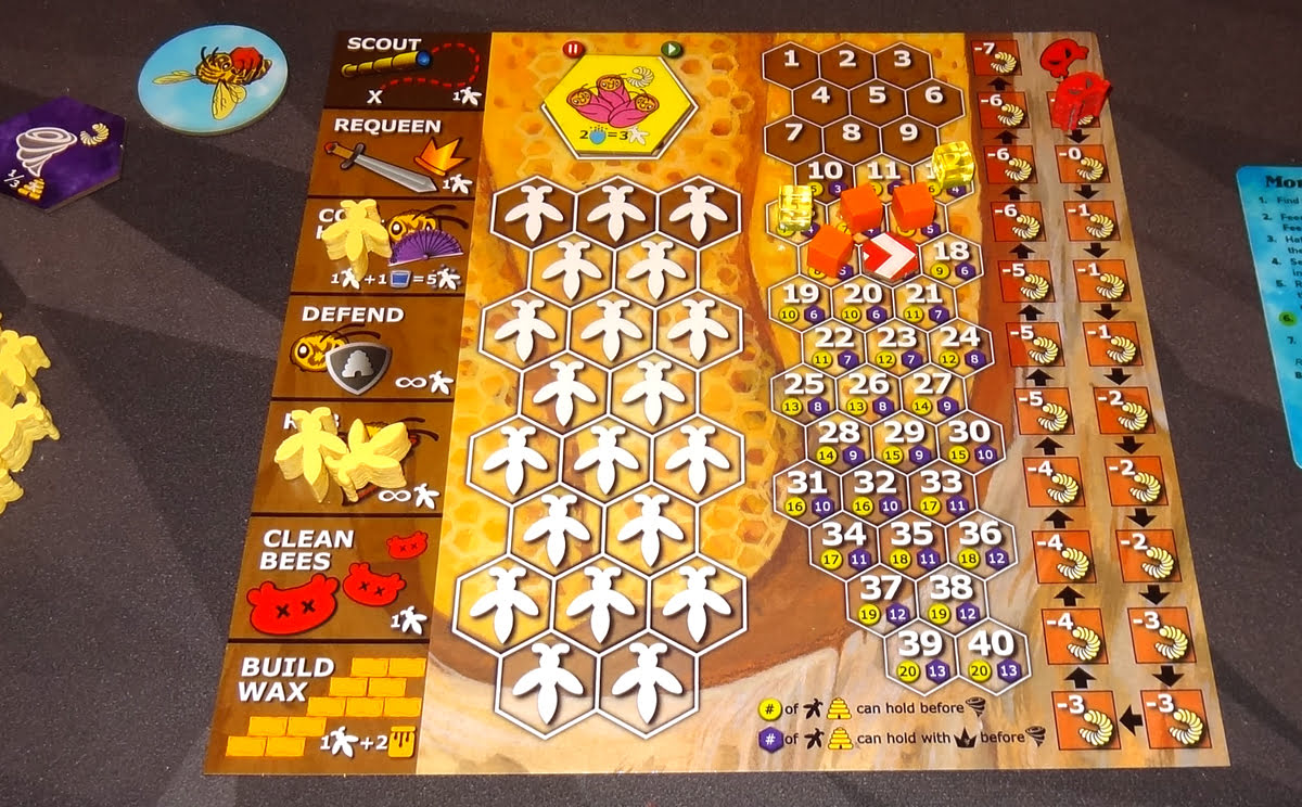 Bee Lives hive board
