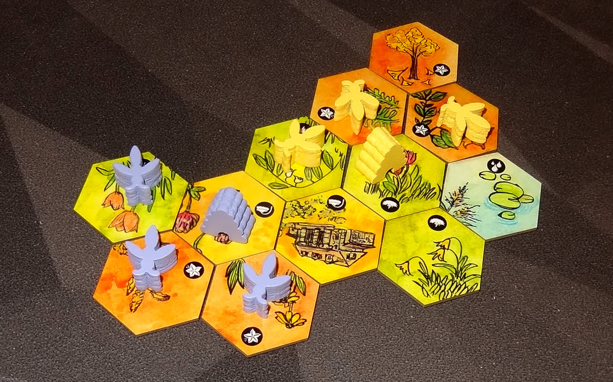 Bee Lives map tiles