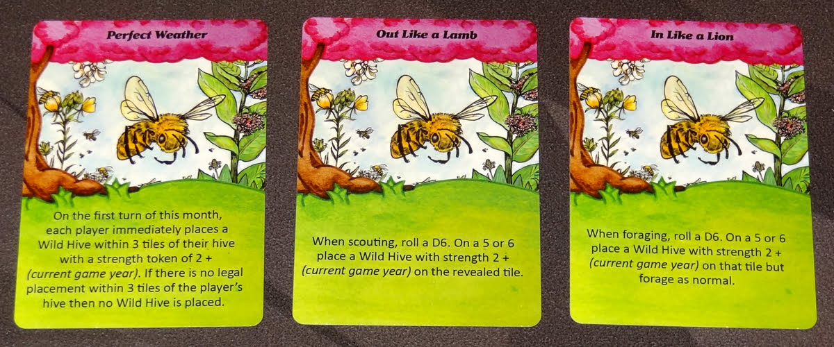 Bee Lives spring cards