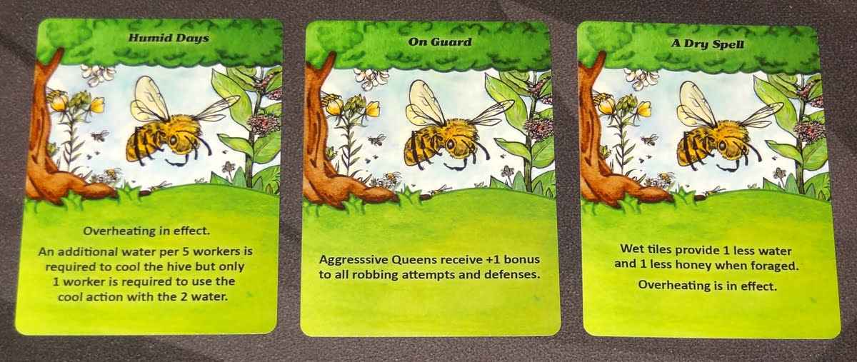 Bee Lives summer event cards