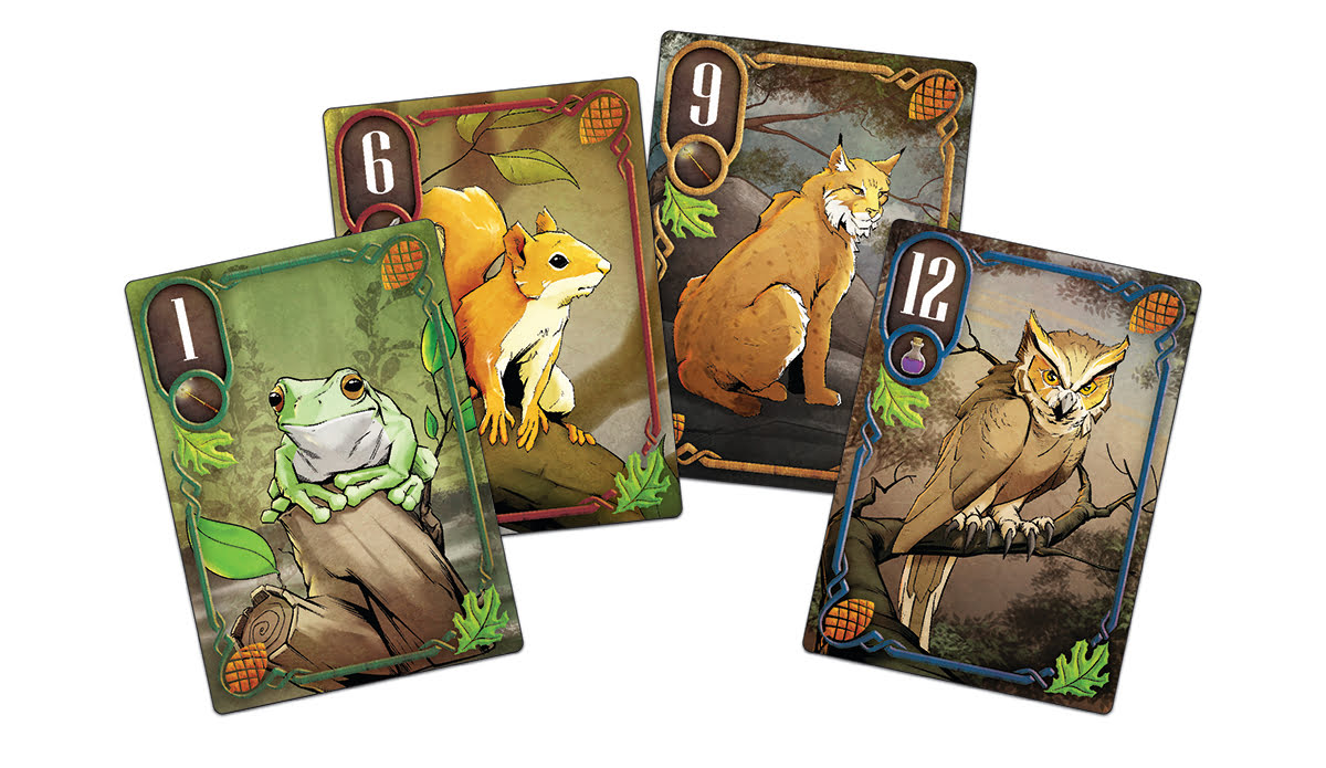 Into the Black Forest cards