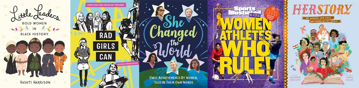 Books about women and girls