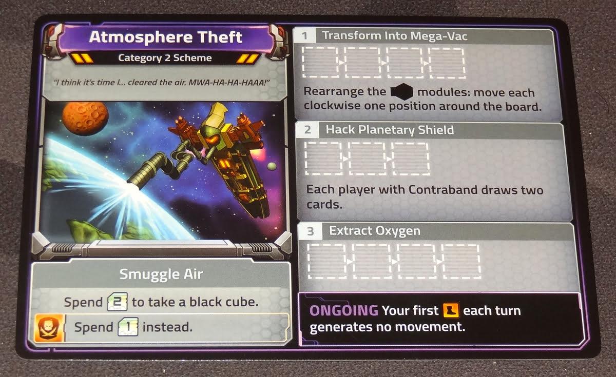 Clank! In! Space! Apocalypse! Atmosphere Theft scheme card