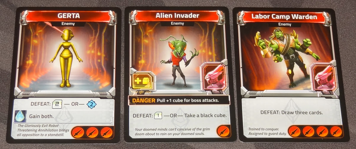 Clank! In! Space! Apocalypse! enemy cards