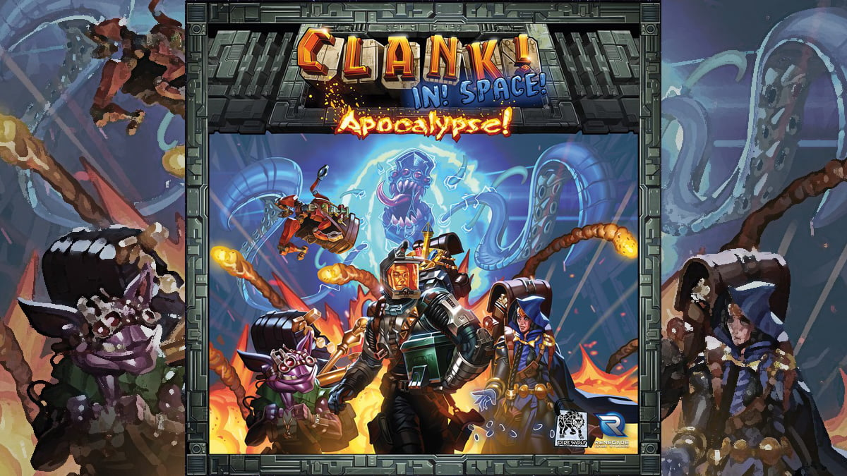 Clank! In! Space! Apocalypse! cover