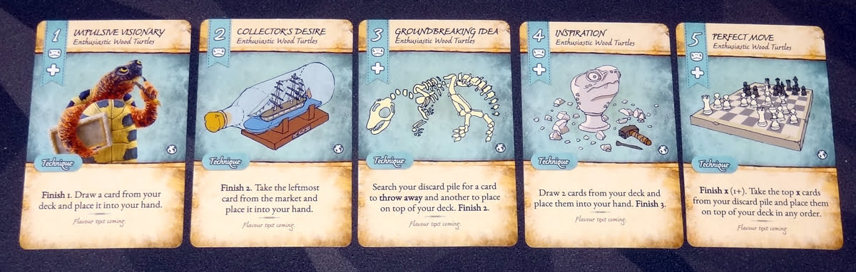 Dale of Merchants turtle cards