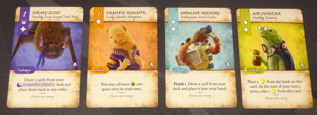 Dale of Merchants animalfolk cards