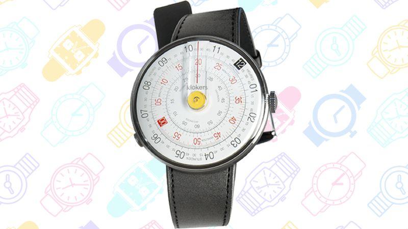 GeekDad: 13 Geeky Watches v4 KLOK-01