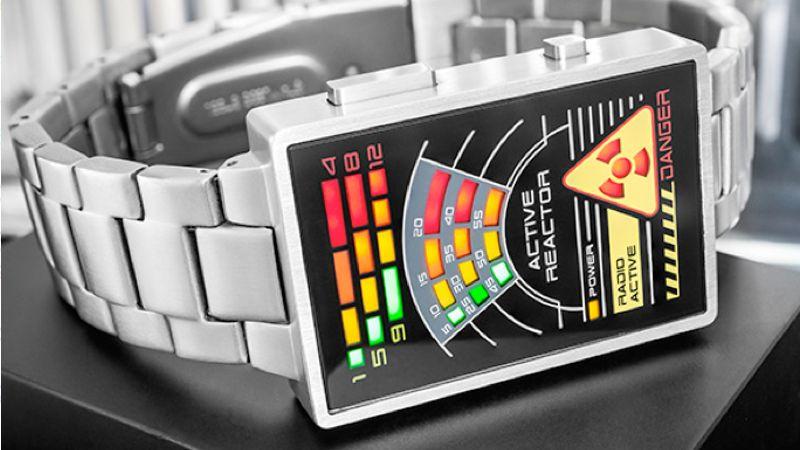 GeekDad: 13 Geeky Watches v4 Radioactive