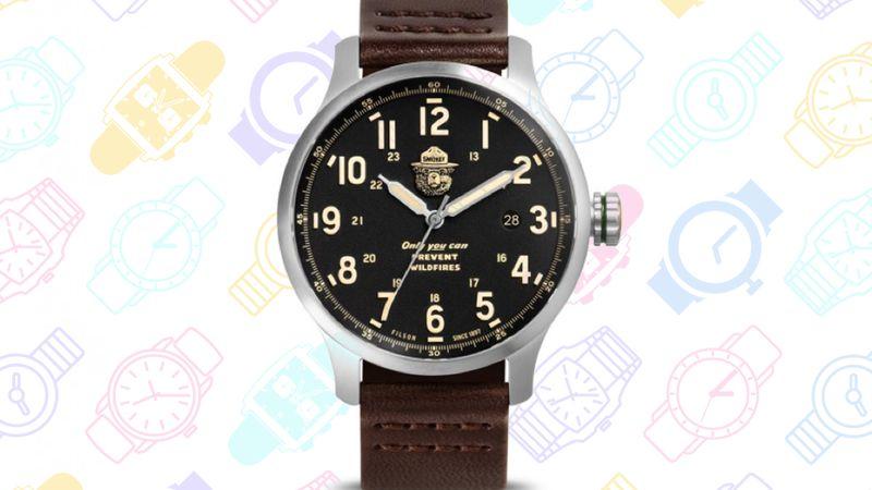 GeekDad: 13 Geeky Watches v4 Smokey Bear