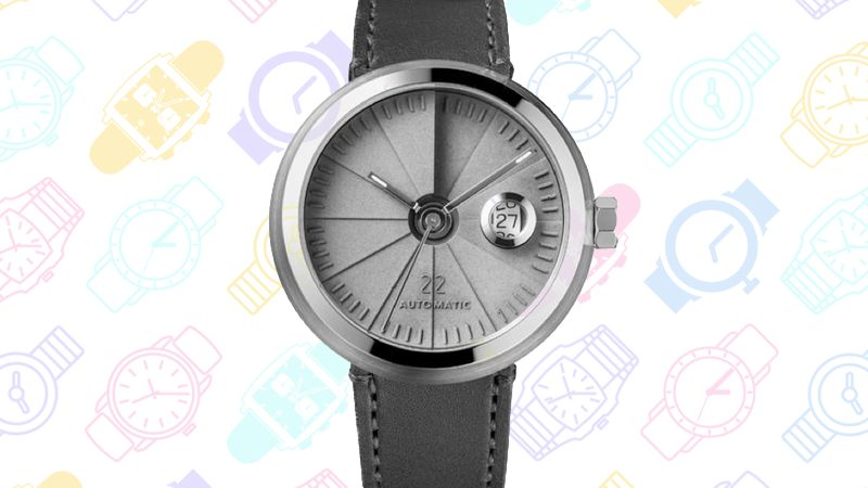 GeekDad: 13 Geeky Watches v4 4D Concrete