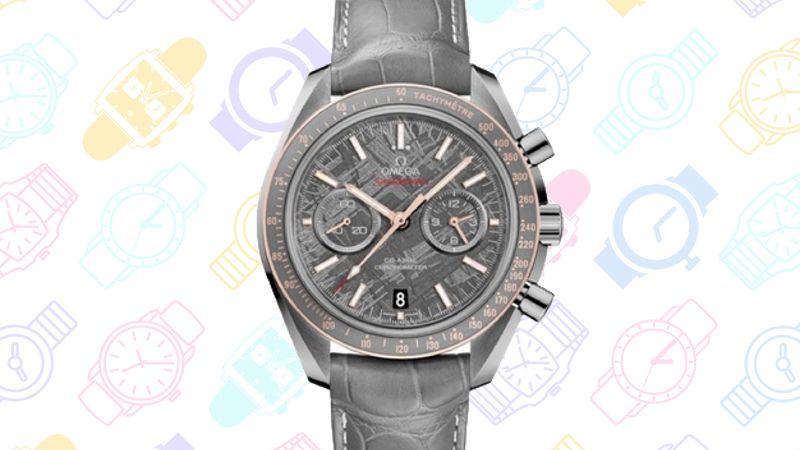 GeekDad: 13 Geeky Watches v4 SPeedmaster Grey Side of the Moon