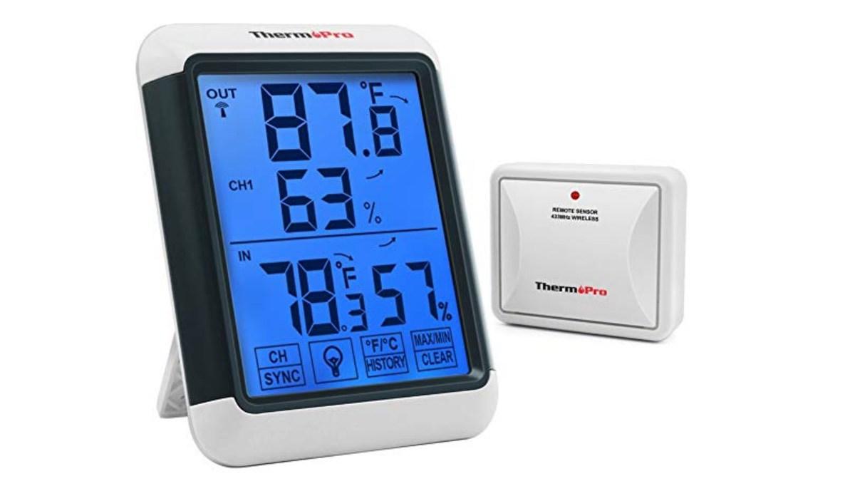Geek Daily Deals 091618 indoor outdoor thermometer
