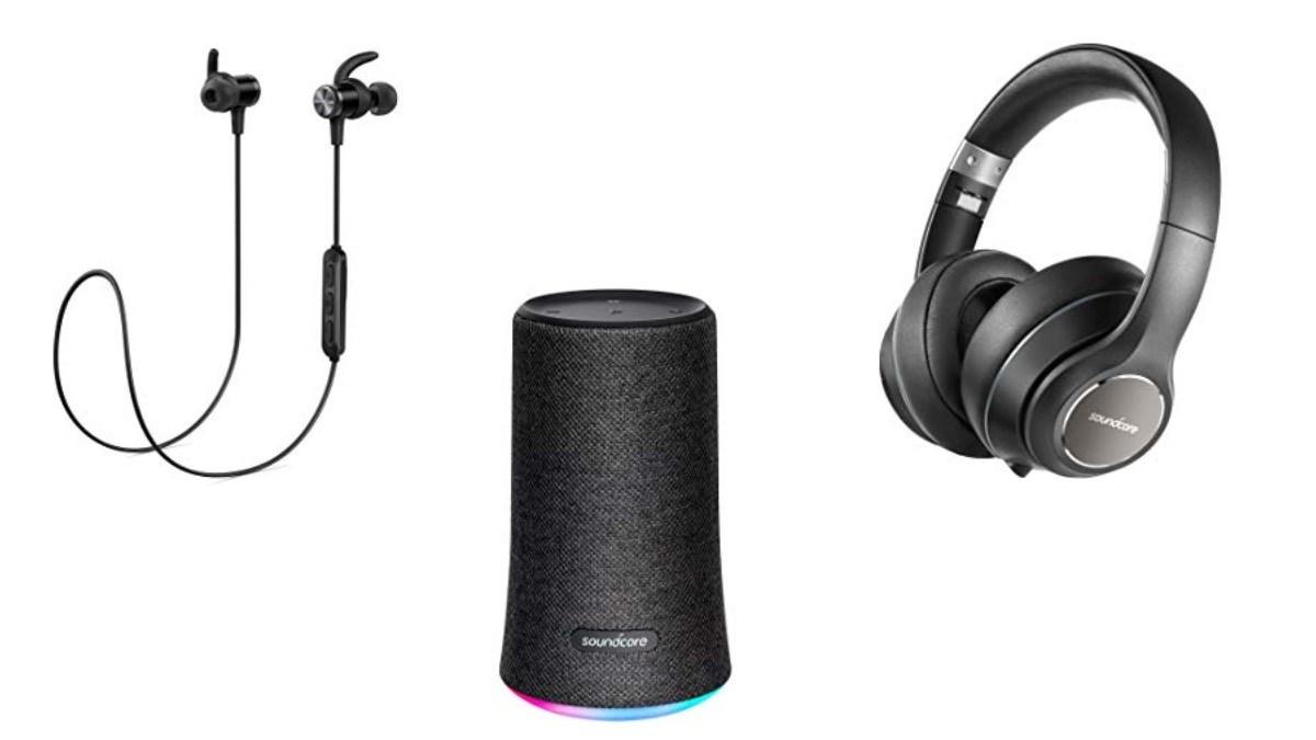 Geek Daily Deals 092418 soundcore speakers headphones