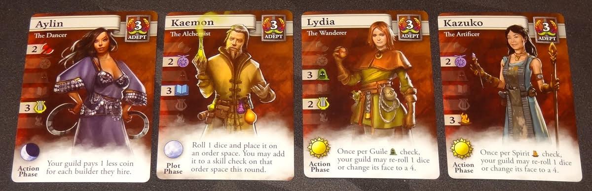 Guild Master Adept adventurers