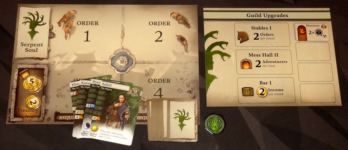 Guild Master player setup