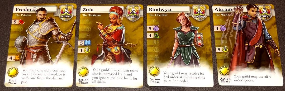 Guild Master Legend adventurers