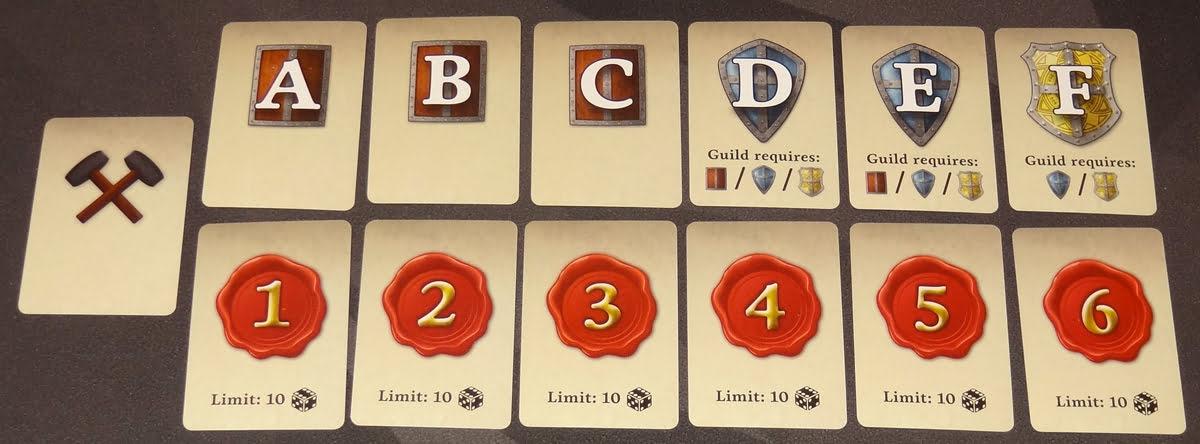 Guild Master order cards