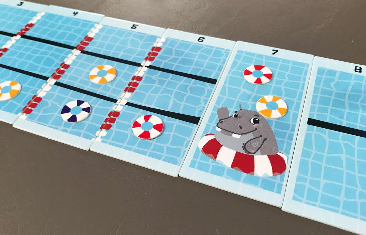 Hippo game closeup