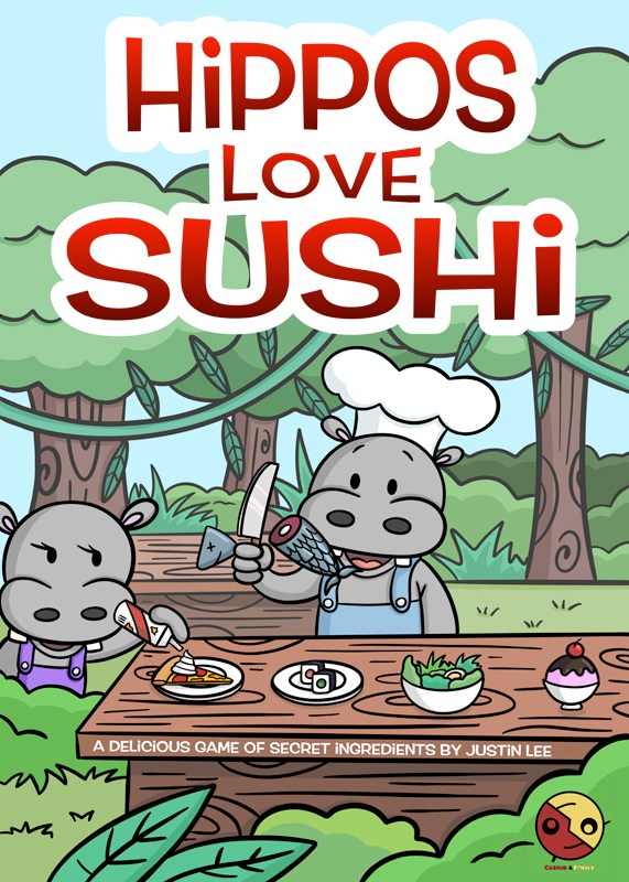 Hippos Love Sushi cover