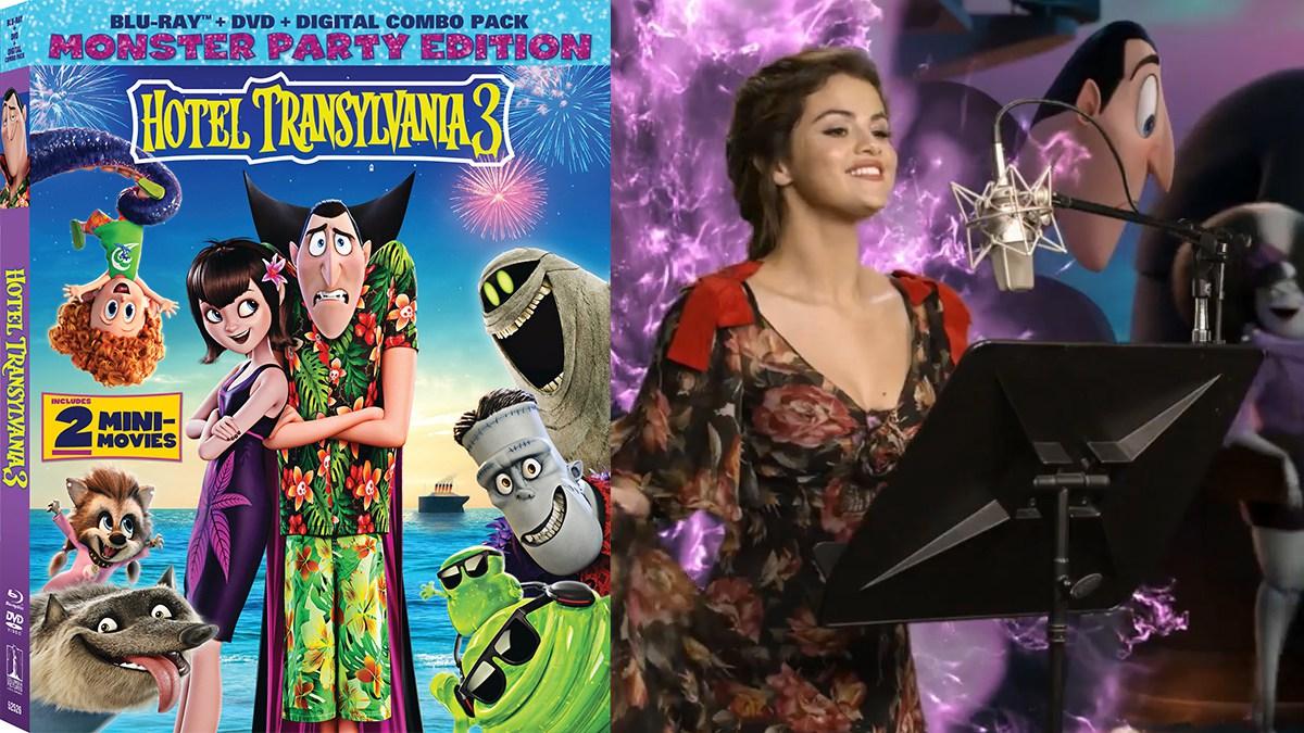 Hotel Transylvania 3 star Selena Gomez