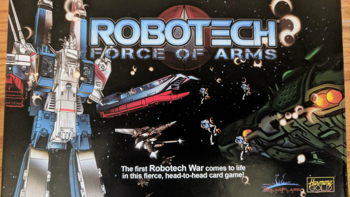 Robotech: Force of Arms Box Art