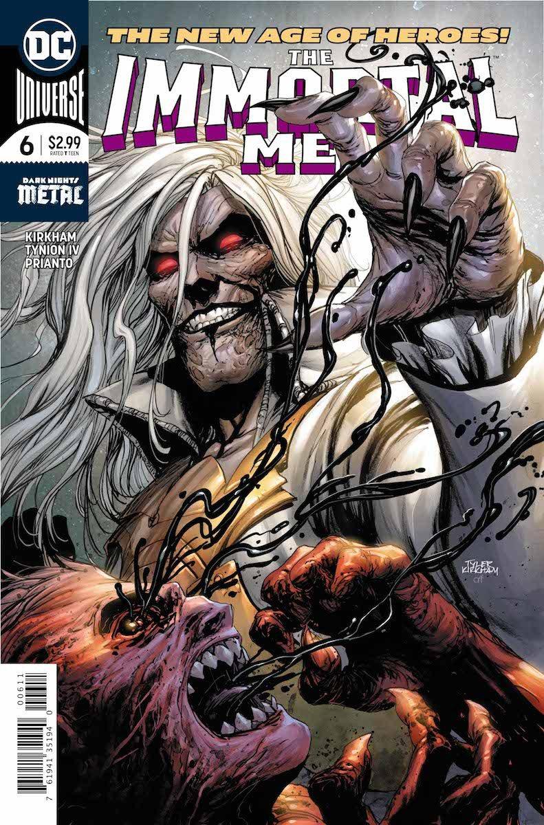 Immortal Men #6 cover