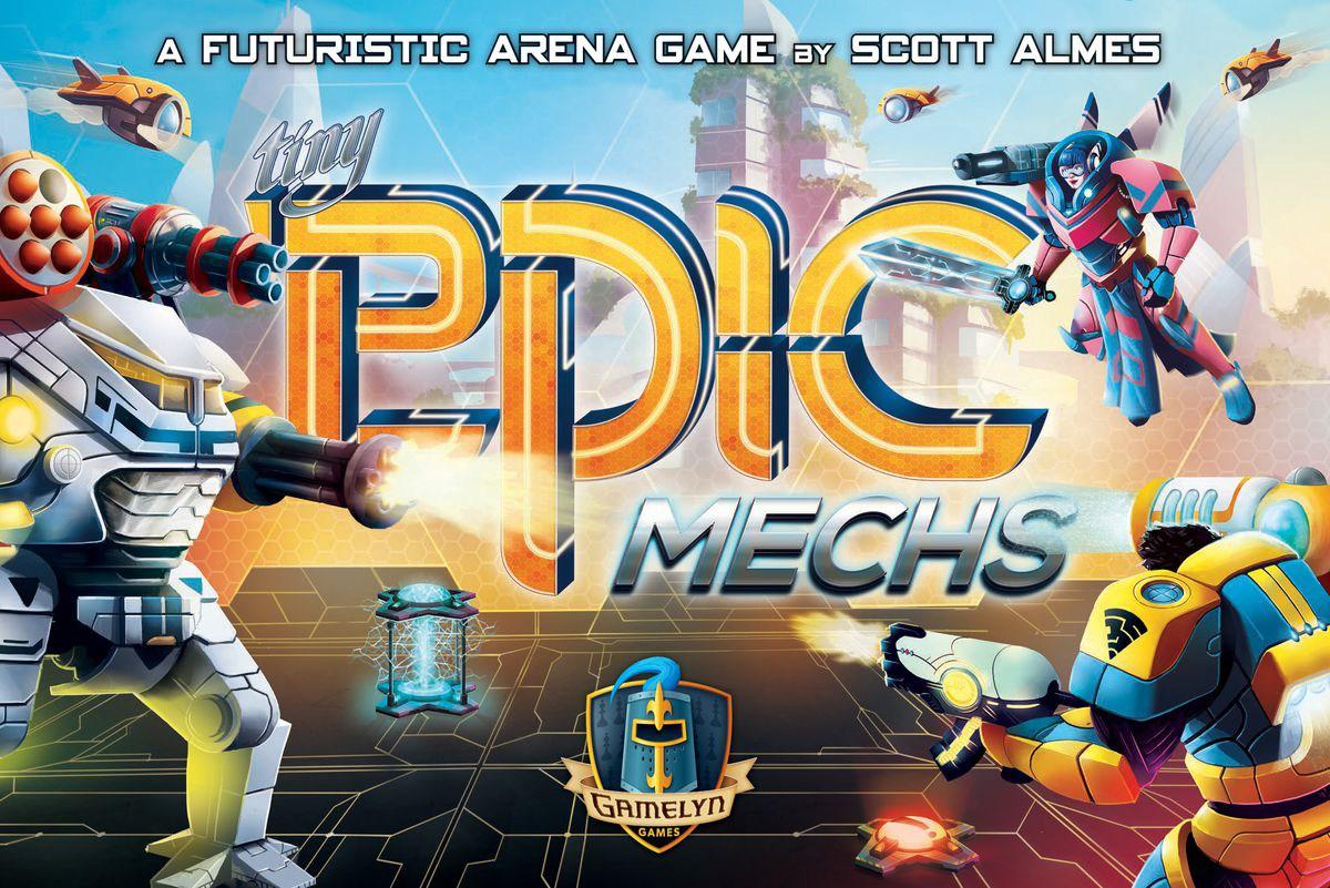 Tiny Epic Mechs battle