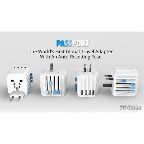 Zendure Passport Travel Adapter