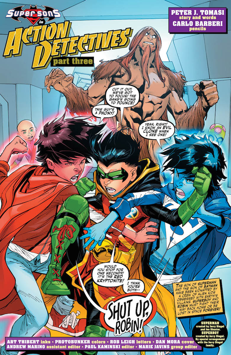 Adventures of Super-Sons #3 page