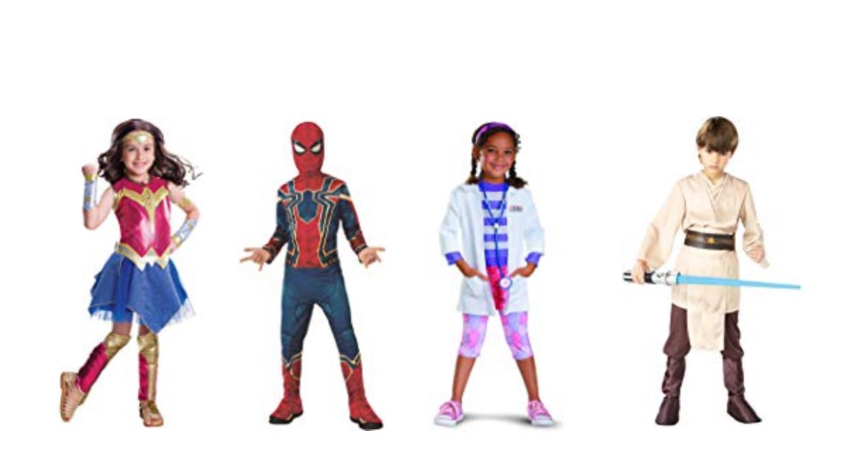 Geek Daily Deals 101318 halloween costumes