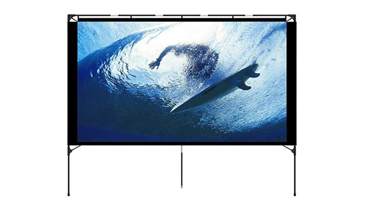 Geek Daily Deals 101618 outdoor projection screen